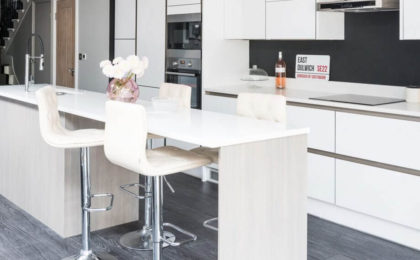 , White kitchens for every style  and budget